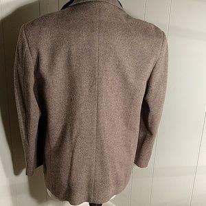 Jos. A. Bank Suits & Blazers - JoS. A. Bank Chocolate Cream Wool Blazer 🏆 HP